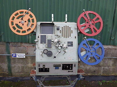 ACMADE MINIOLA PROFESSIONAL 16MM FILM EDITING MACHINE movie tape editor