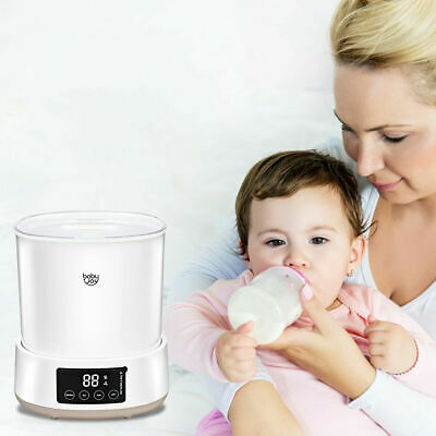Multifunctional Baby Bottle Electric Steam Sterilizer Dryer Machine LED Display