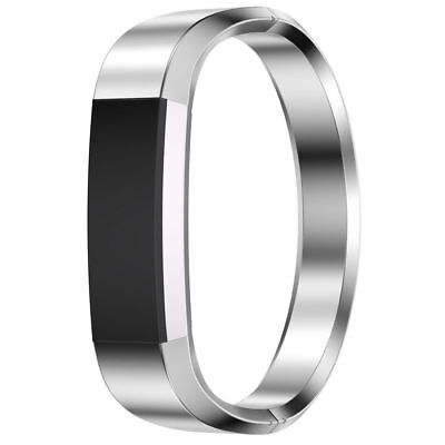 Silver For Fitbit Alta HR Replacement Metal Band Stainless Bracelet Strap M Size