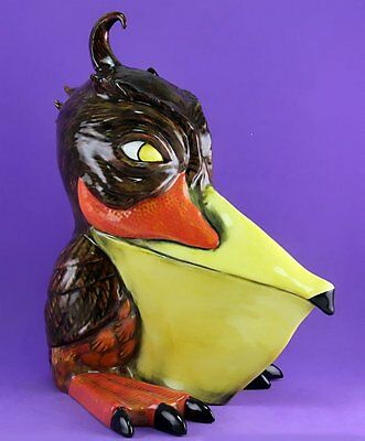 Lorna Bailey GIANT GROTESQUE BIRD SPIKE THE PELICAN, LTD ED 42/50, SEPT 2000