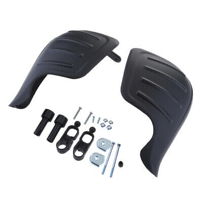 """7/8"""" 22mm Handle Bar Hand Guards for Motocross Motorcycle Black"""