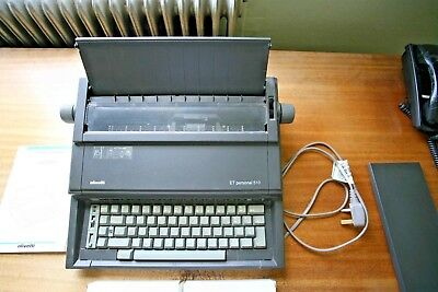 Olivetti ET personal 510 with 2 ribbons