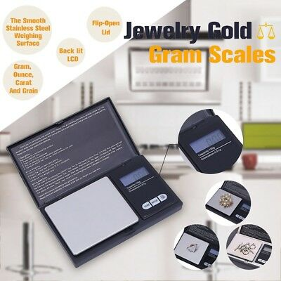 Electronic Pocket Mini Digital Gold Jewellery Weighing Scales 0.01g to 200 Gram