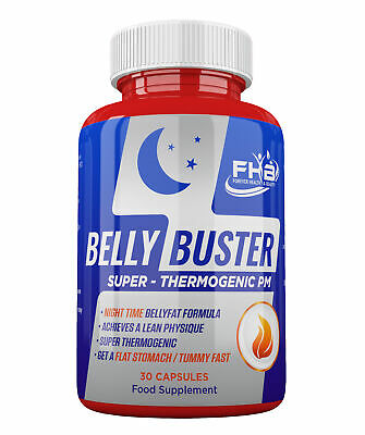 BELLY FAT BUSTER Strong Diet Tablets SPECIAL NIGHT PILLS for FAST WEIGHT LOSS !