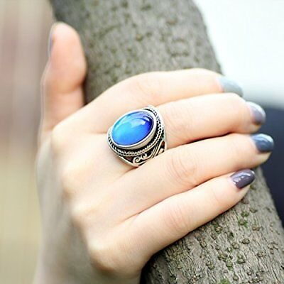 Mood Rings MOJO JEWELRY Changing Colors Antique Sterling Silver Vintage Womens