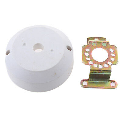 Marine Cable Steering 90 Angled Bezel Kit Boat Outboard Engine Helm White