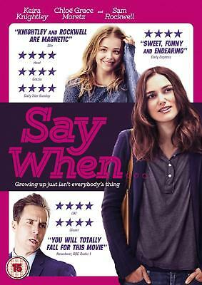 Say When (DVD) Keira Knightley, Chloe Grace Moretz, Sam Rockwell
