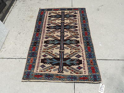 3x5ft Handknotted Pakistani Eagle Design Wool Rug 765 00 Picclick