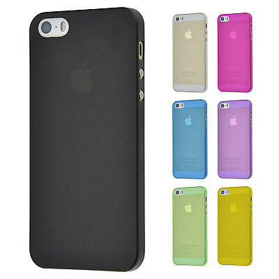Ultra Slim Case IPHONE 5 5S Se Matte Clear Cases Skin Cover Foil