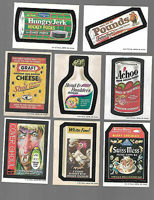 1974 Topps Wacky Packages Original 5th Series 5 Near Complete Set 31/33
