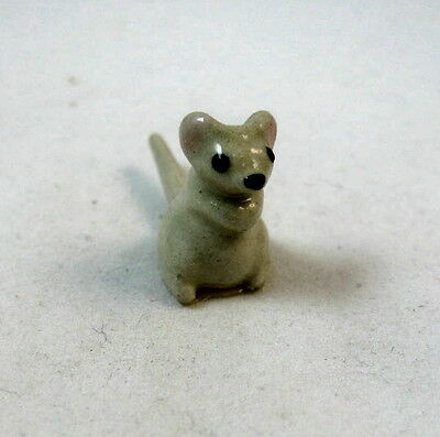 Hagen Renaker miniature made in America Mouse large bottom pointy tail retired
