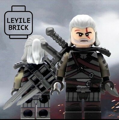 **Pre-order** LYL BRICK Custom The Witcher 3 Wild Hunt Lego Minifigure