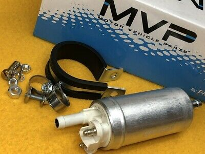 100 LPH 3-5 PSi E85 OK Inline lift or Carb Universal fuel pump 8mm barb MVP