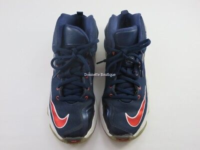reputable site 62e30 7504b Nike Lebron XIII PS Big Kids 808710-461 Navy Basketball Shoes Youth Size 2Y  VGC
