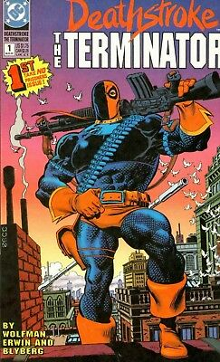 Us Comics Deathstroke The Terminator Digital Collection On Dvd