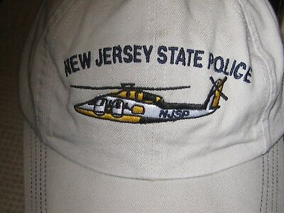 New With Tag New Jersey State Police Hat/cap