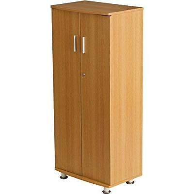 Storage Filing Cabinet Office Home Shoe Cupboard Furniture Files Shelves OAK