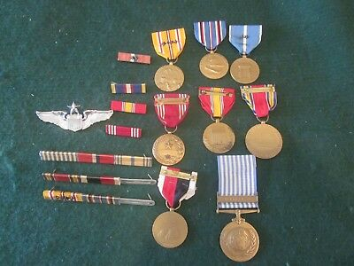 Lot 8 WW2 & Korean War US Military Medals & Ribbons Asiatic Pacific,Occupation