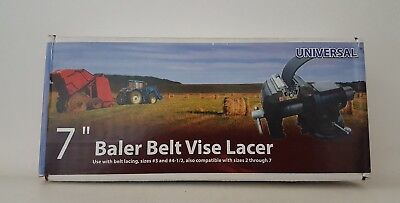 "7"" Vise Lacer, Single, PartNo 26143163, by Apache Hose & Belting Inc - EXPEDITED"