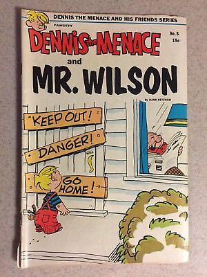 Dennis The Menace and Mr. Wilson #8 October 1970 Fawcett Comics - Free Shipping