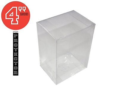 """Funko pop toy protector Clear 4"""" inch .35mm thickness."""