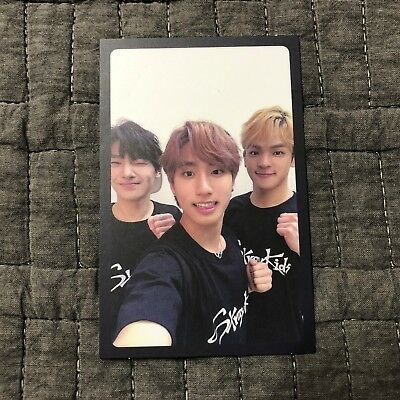 STRAY KIDS I.N HAN WOOJIN Official PHOTOCARD I am NOT UNIT Ver. Card