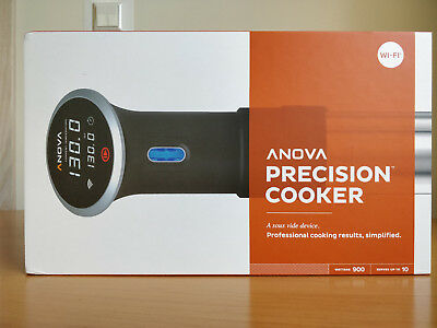 Anova Culinary Bluetooth & Wi-Fi Precision Cooker Black