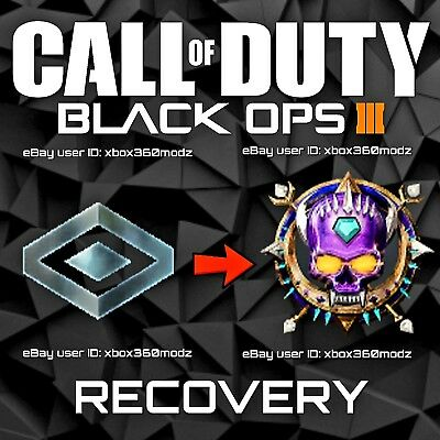 Call of Duty Black Ops 3 BO3 Recovery Mod   Prestige Master - Xbox 360 Only
