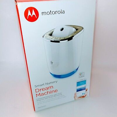 Motorola Smart Nursery Dream Machine Connected Sound & Light Show Projector