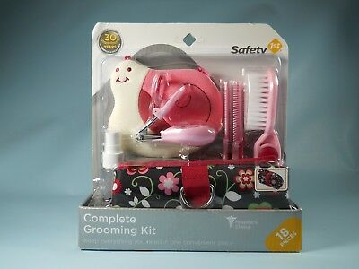 Complete Baby And Toddler Grooming Kit 18 Pieces Safety 1st