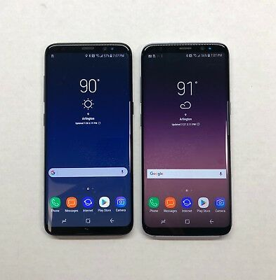 Samsung Galaxy S8 S8+ 64gb Unlocked AT&T Verizon T-Mobile or Sprint G950U/G955U