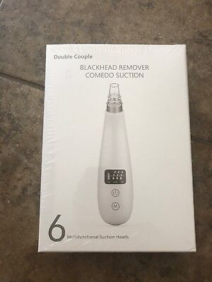 [Upgraded] Rechargeable Blackhead Remover Electric Comedo Suction Vacuum