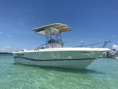 2006 22' PRO-LINE BOAT  21 SPORT with Honda 150HP four stroke Only 280 Hours