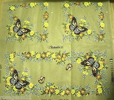 New TAPESTRY to STITCH ~Flowers & Butterflies (SET 3) GOBELIN - For Cushions etc