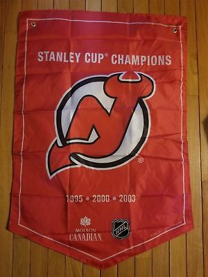 Molson Canadian Coors Light Stanley Cup Winner Banner Flags New Jersey Devils