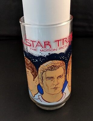 Vintage Coca Cola STAR TREK The Motion Picture Drinking Glass