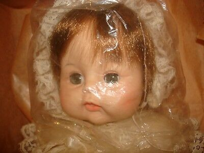 Madame Alexander Vintage Sweet Tears In Christening Gown Unplayed With 3621