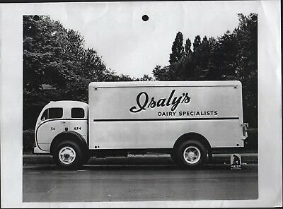 """8""""x11""""  Reprod photo - Isaly's Dairy Specialists  COE Delivery Truck by Mayer"""