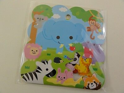 Journal Planner Animals Zoo Safari Variety Flake Stickers Cute