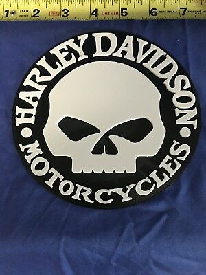 3D Printed Harley Davidson Willie G Skull Logo Sign