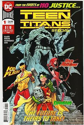 Teen Titans Special #1 1st Crush First Print Cover A