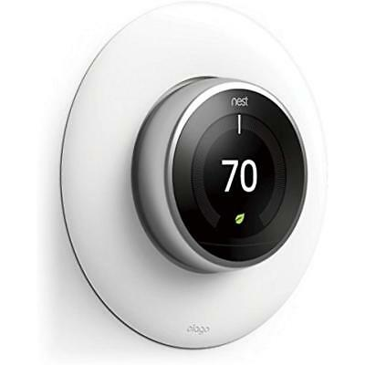 NEST THERMOSTAT NEST LEARNING E THERMO GENERATION WALL PLATE COVER SOCKET TIDY