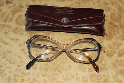 Vintage Cats Eye Oval Glasses 1950s 1960s Retro OPTEX Australia Fashion