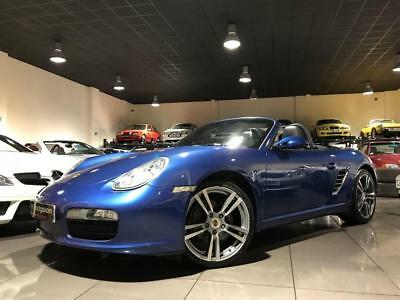 Porsche Boxster 24V COBALT BLUE WITH BLUE LEATHER 19INCH ALLOYS