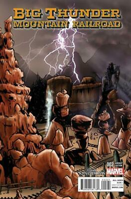 Big Thunder Mountain Railroad #2 Connecting Variant Cover