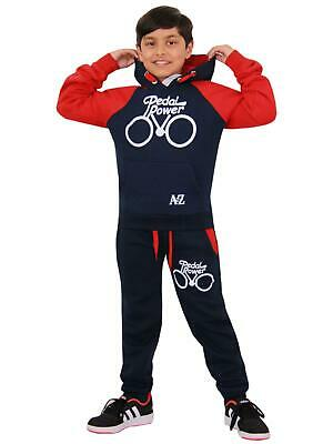 Kids Tracksuit Girls Boys Designer Pedal Power Top Bottom Jogging Suit 5-13 Year