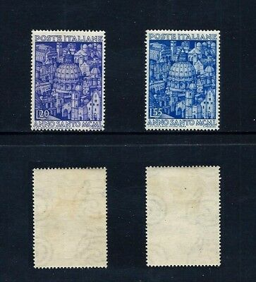 ITALY _ 1950 'HOLY YEAR' SET of 2 _ mh ____(543)