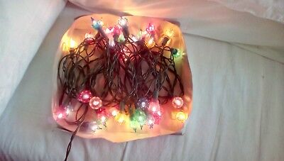 Vintage Christmas Tree Fairy Lights. Working. Boxed. Long string. VGC