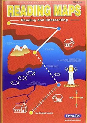 Reading Maps: Middle: Reading and Interpreting, Very Good Condition Book, Moore,