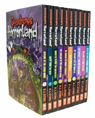 Goosebumps HorrorLand Series 10 Book Set Collection Pack R L Stine | Stine  R L